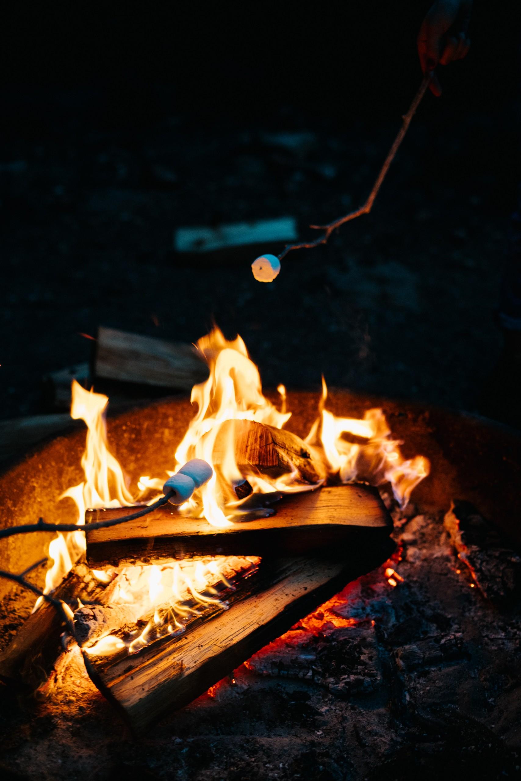 Lagerfeuer am Waldhof