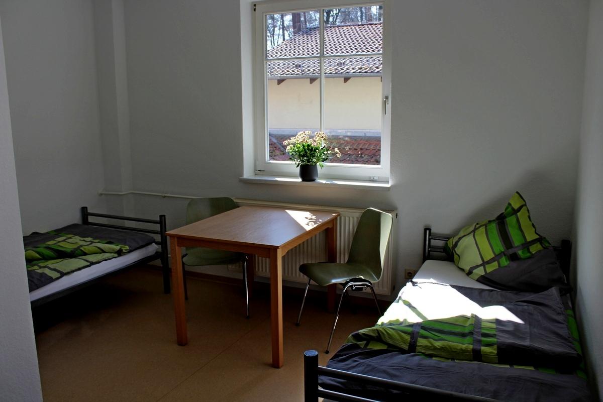 Mehrbettzimmer im Waldhof Zootzen
