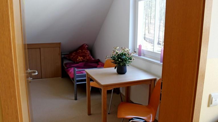 Einzelzimmer im Waldhof Zootzen