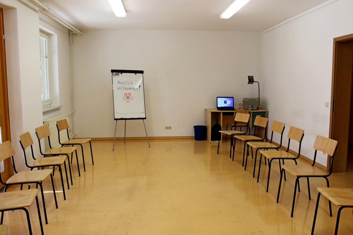 Gruppenraum im Waldhof