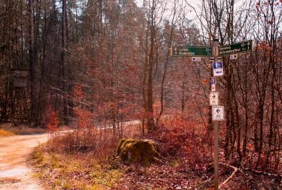 Radwege beim Waldhof Zootzen