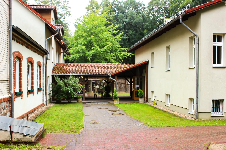 Innenhof des Waldhof Zootzen